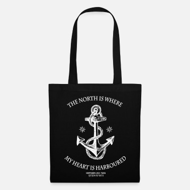 Northern Soul Northern Heart WH - Tote Bag