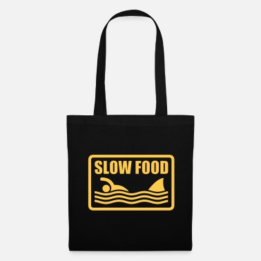 Quotes slow food - Tote Bag
