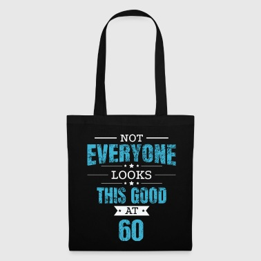 60th Birthday Gift Retro Sixty 60 Years Looks This Good Blue - Tote Bag
