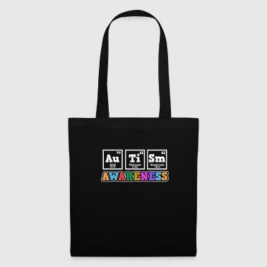 Appel Aspergers Autism Awareness Elements Gift - Tas van stof