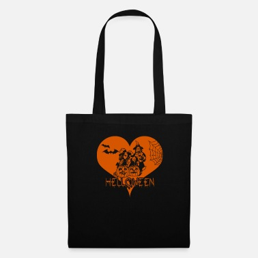 I Heart I Heart Halloween - Citrouille - Tote Bag