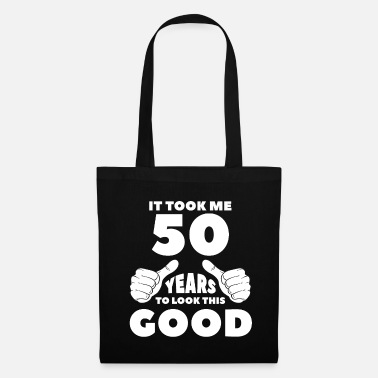 50th Birthday 50th birthday gift birthday present - Tote Bag