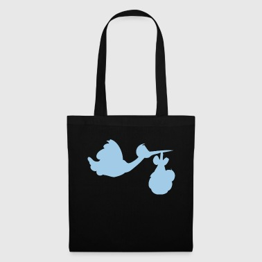 Lapsi Stork with baby - Tote Bag