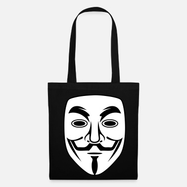 Anonymous anonymous mask - Tote Bag