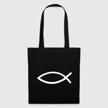 Jesus Fish - Christian Fish - Tote Bag