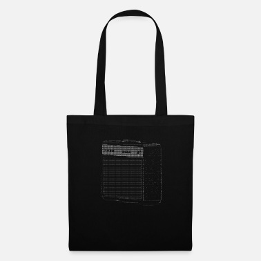Nerd &amp Ascii Code Art - AMP / Amplifier - Tote Bag