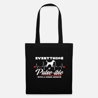 Personal Carer Pulse-ible | Nurse dog love gift - Tote Bag