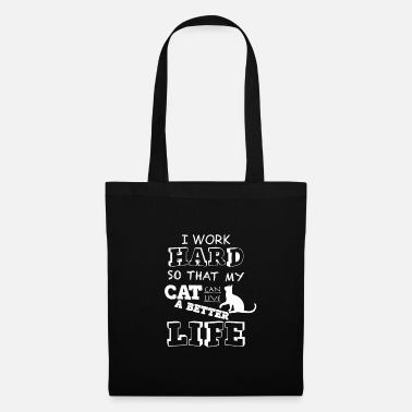 Gentil Chat amour amour animal animal de compagnie dire - Tote Bag