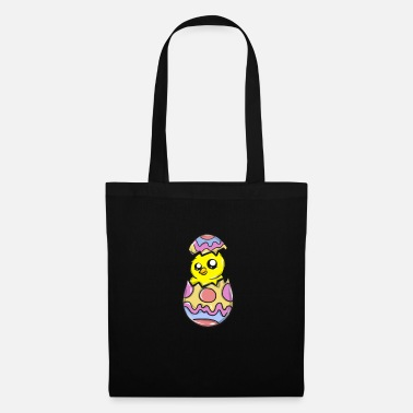 Crutches Easter easter egg chicks - Tote Bag
