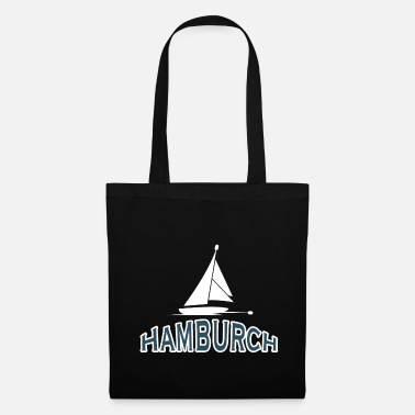 Hamburger Port de Hambourg voile Hamburch - Tote Bag
