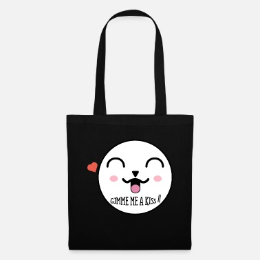 Cute face ~ gimme a kiss ❤ - Tote Bag