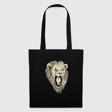 Lion rugissant - Tote Bag