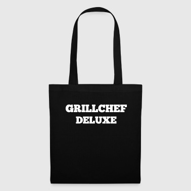 Grillspruch Grill Chef Deluxe i hvid - Mulepose