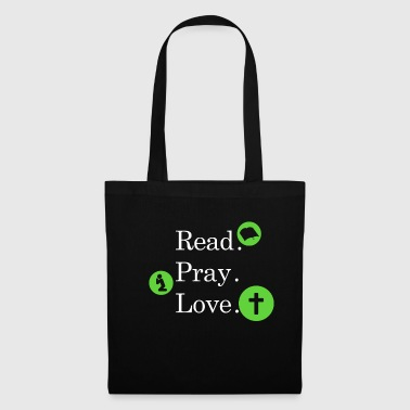 Read Pray Love Religion Foi foi T-Shirt Love - Tote Bag