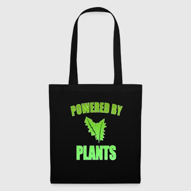 Powered by plants vegan - Stoffbeutel