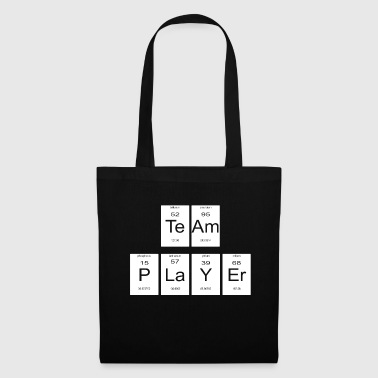 teamplayer periodic table nerd gift - Tote Bag