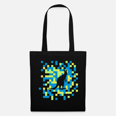 Carreaux carreaux de kangourou - Tote Bag