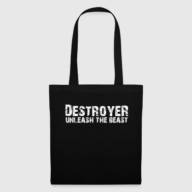 Destroyer Motivation Beast Mode Workout - Stoffbeutel