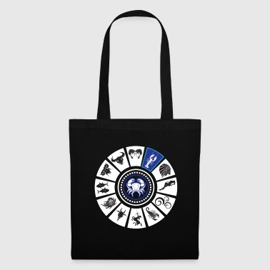 Zodiac Cancer Constellations Horoscope Gift - Tote Bag