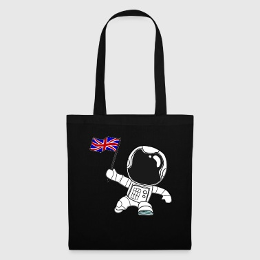 Great Britain astronaut flag gift motive - Tote Bag