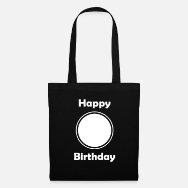 Happy Birthday Inserisci Happy Birthday, Birthday singolarmente - Borsa di stoffa