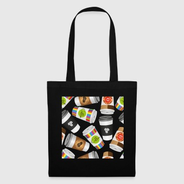 Luxury Illustration coffee to go - Tote Bag