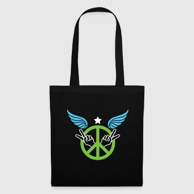 Suit Peace, freedom, love - Tote Bag