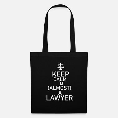 Lawyer Lawyer law gift court profession job law firm - Tote Bag