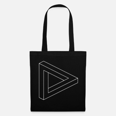 Hallucination Illusion d'optique hallucination - Tote Bag