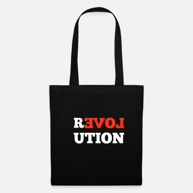 Make Love Not War Revolution Love Gift - Borsa di stoffa