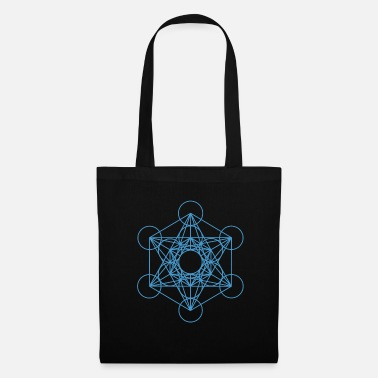 Sacred Geometry Metatron's Cube 17 - Tote Bag