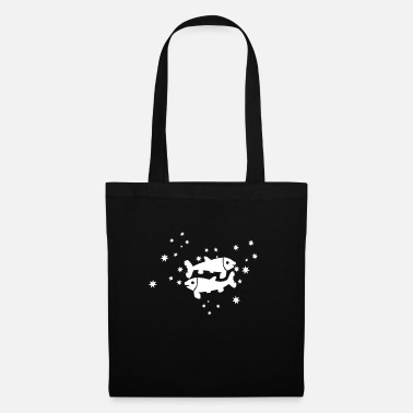 Libra star signs fish - Tote Bag