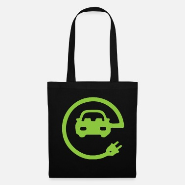 Drive Go By Car Electric car electric mobility electricity gift - Tote Bag