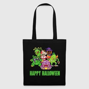 Halloween monster zombie horror skelet bot - Tas van stof