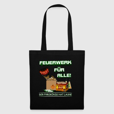 Pyro and fireworks for everyone - Tote Bag