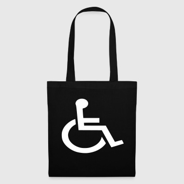 wheel chair - Tote Bag