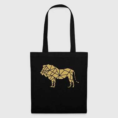 Silhouette de lion - Tote Bag