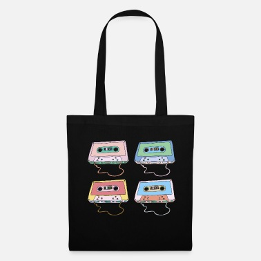 Dubstep Music cassette Compact cassette Magnetic tape Retro - Tote Bag
