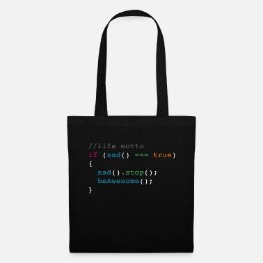 Motto life motto - Tote Bag