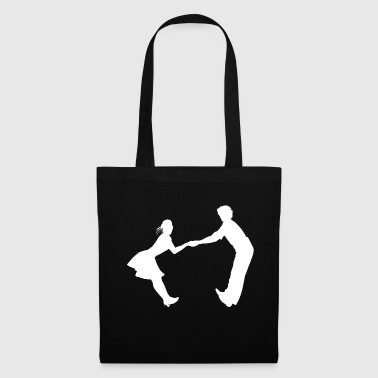 Dancing dance couple music dance music - Tote Bag