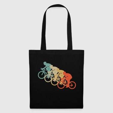 Retro Vintage Style Bicycle Cycling Two Wheel Sport - Tote Bag