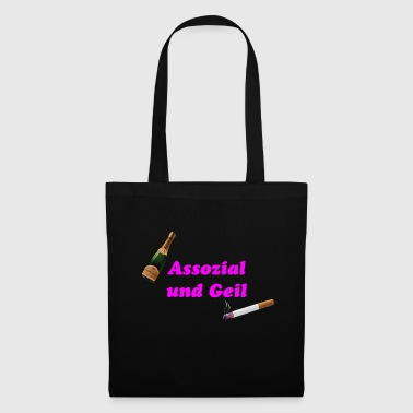 Association Associal and horny - Tote Bag
