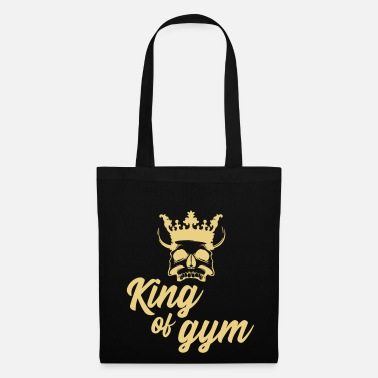 Online Hero of the Gym Re della palestra King of fitness - Borsa di stoffa