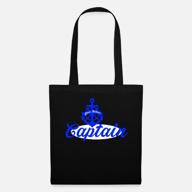 Steering Wheel Captain sailor sailor steering wheel anchor gift - Tote Bag