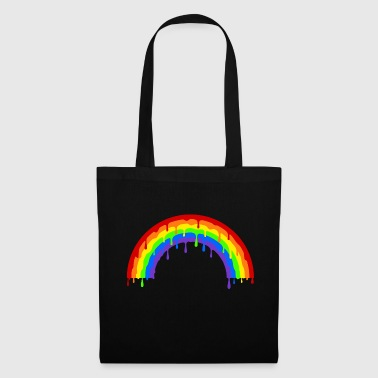 Dripping rainbow - Tote Bag
