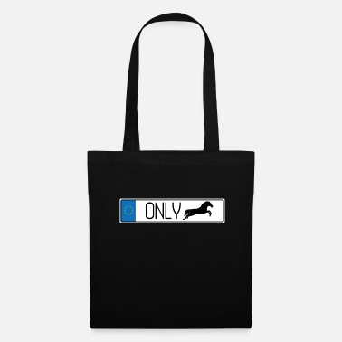 Show Jumping Number plate show jumping - Tote Bag