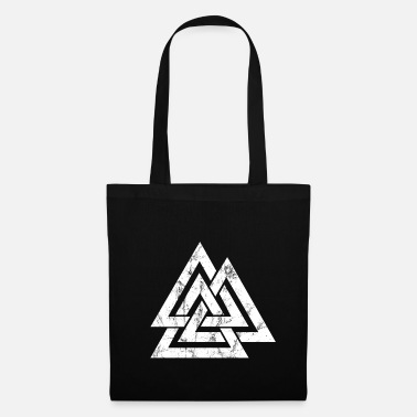 Celtic Knot Valknut Viking's Odin Sign Wotan's Knot - Tote Bag