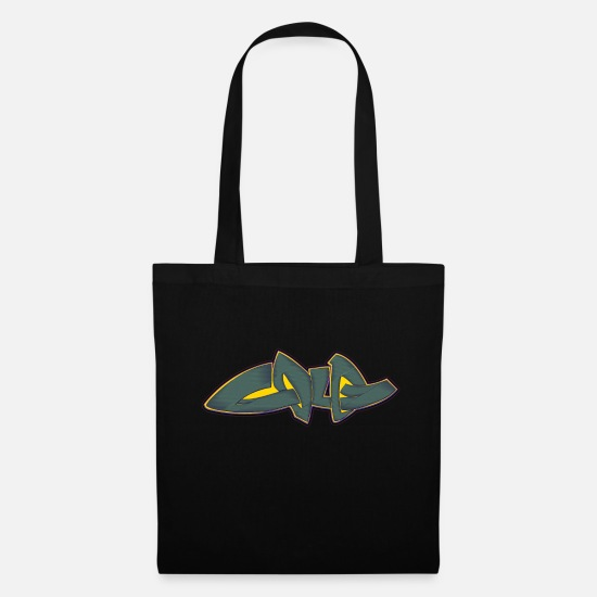 Art Bags & Backpacks - Cool street art graffiti - Tote Bag black