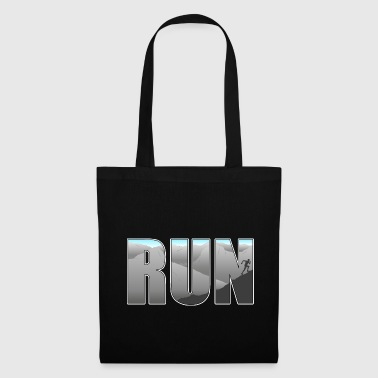 Running, trail running, gift idea - Tote Bag