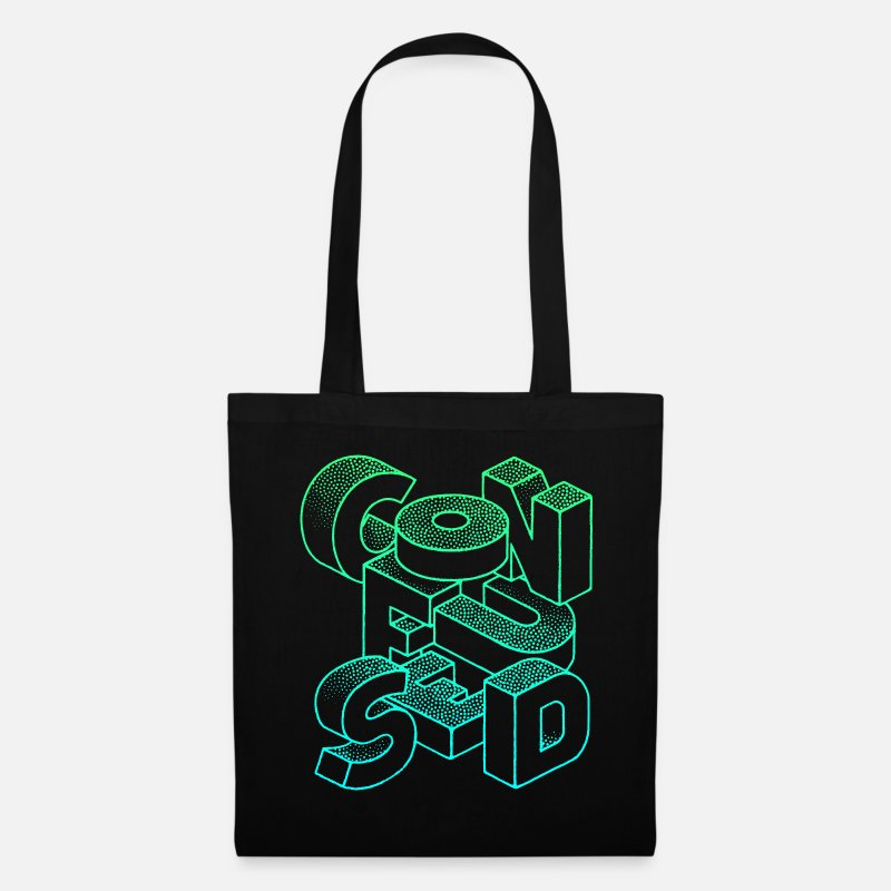 Collection Bags & Backpacks - Confused - Tote Bag black